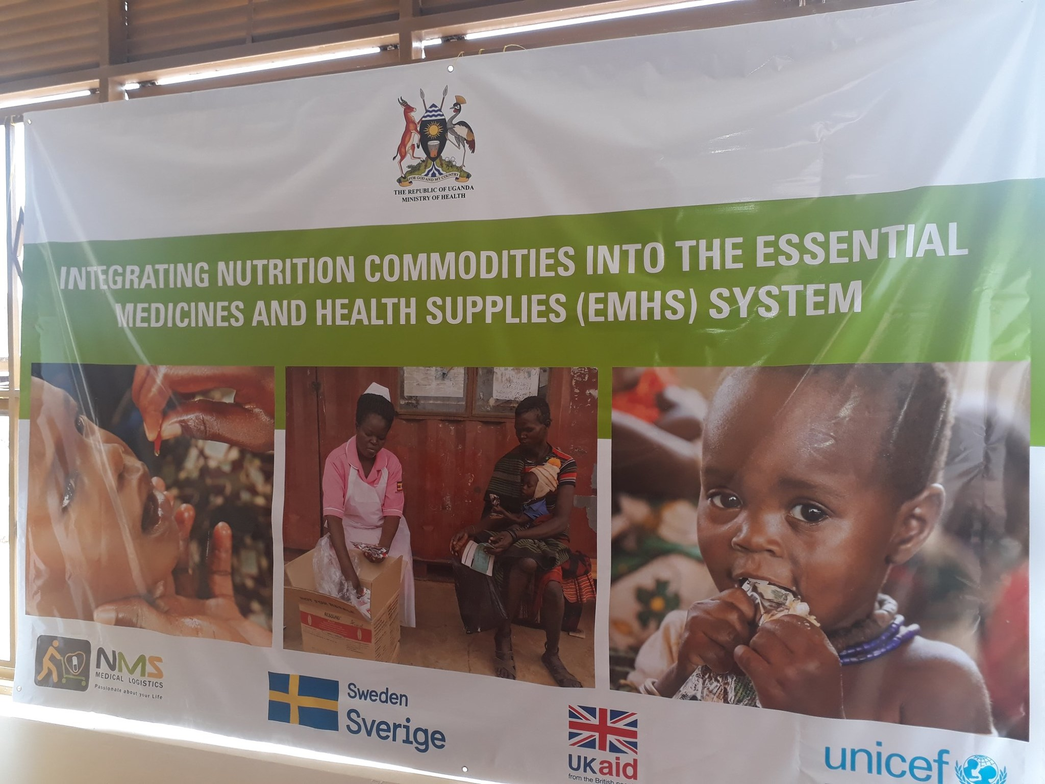 Nutritional Supplies Integrated into the National Supply System of Essential Medicines and Health Supplies Pilot Project for West Nile Region